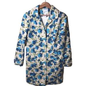 Old Navy Floral Trench Coat